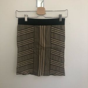 BCBGeneration Body Con Geometric Skirt sz M/L